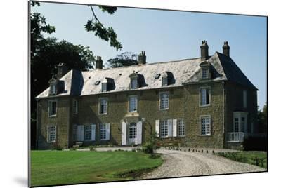 Villeneuve Castle--Mounted Giclee Print