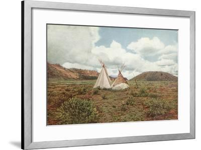 In Apache Land, Arizona--Framed Photographic Print