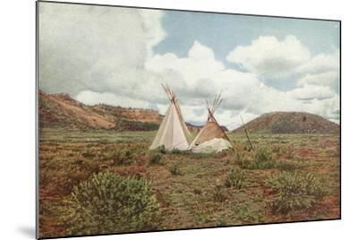 In Apache Land, Arizona--Mounted Photographic Print