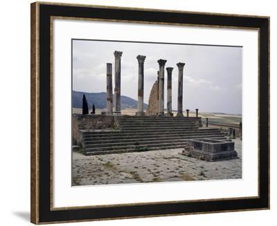 Capitolium--Framed Giclee Print