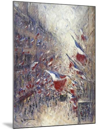 The Fourteenth of July in Paris-Gustave Loiseau-Mounted Giclee Print