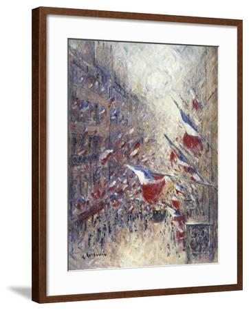 The Fourteenth of July in Paris-Gustave Loiseau-Framed Giclee Print