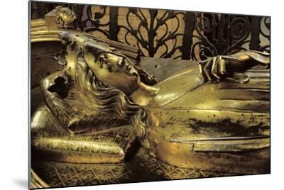 Tomb Figure of Eleanor of Castile--Mounted Giclee Print