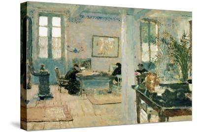 In the Room, 1890S-Edouard Vuillard-Stretched Canvas Print