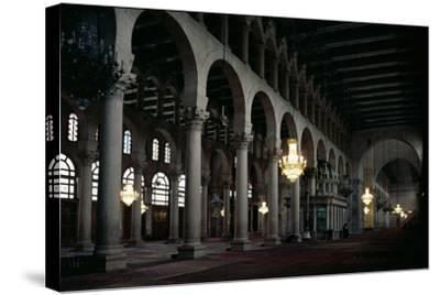 Interior of the Prayer Hall, C.705-715 Ad--Stretched Canvas Print