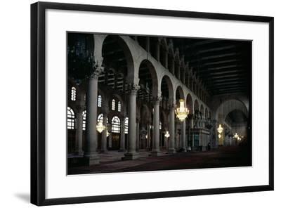 Interior of the Prayer Hall, C.705-715 Ad--Framed Photographic Print