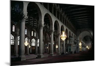 Interior of the Prayer Hall, C.705-715 Ad--Mounted Photographic Print