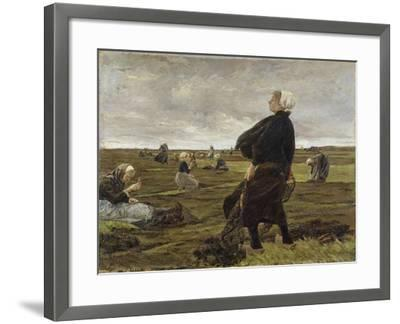 Repairing the Nets, 1889-Max Liebermann-Framed Giclee Print