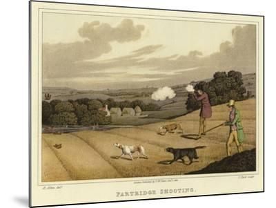 Partridge Shooting-Henry Thomas Alken-Mounted Giclee Print