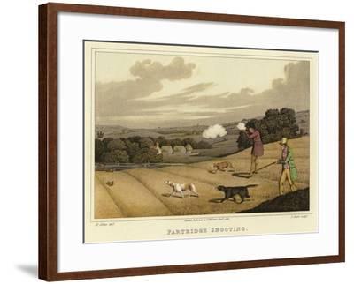 Partridge Shooting-Henry Thomas Alken-Framed Giclee Print