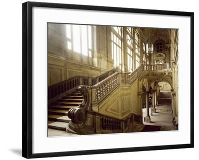 The Grand Staircase, Palazzo Madama--Framed Photographic Print
