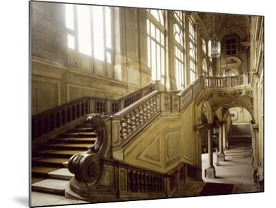 The Grand Staircase, Palazzo Madama--Mounted Photographic Print