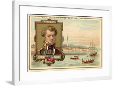 Lorient - Dumont D'Urville--Framed Giclee Print