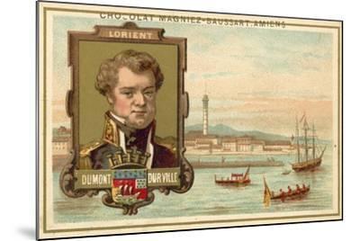 Lorient - Dumont D'Urville--Mounted Giclee Print