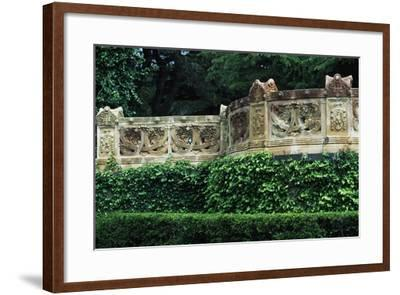 Terracotta Balcony, Caltagirone Public Gardens--Framed Photographic Print