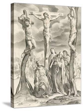The Crucifixion-Hendrik van the Elder Balen-Stretched Canvas Print