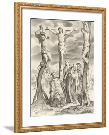 The Crucifixion-Hendrik van the Elder Balen-Framed Giclee Print