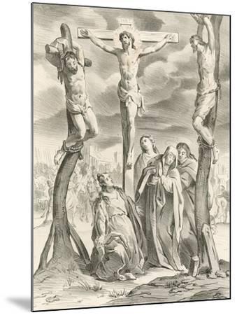 The Crucifixion-Hendrik van the Elder Balen-Mounted Giclee Print