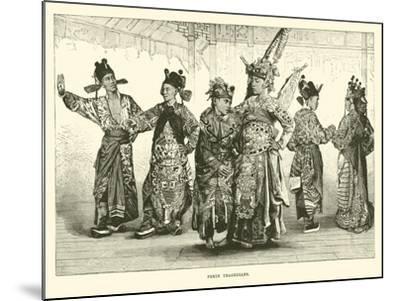 Pekin Tragedians--Mounted Giclee Print