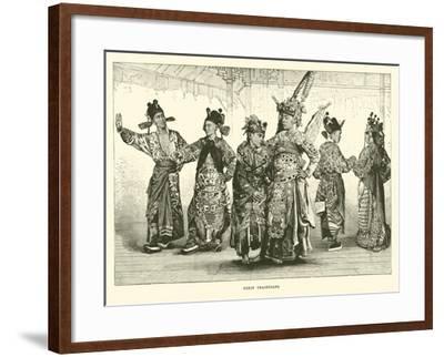 Pekin Tragedians--Framed Giclee Print