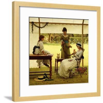 The Garland-George Dunlop Leslie-Framed Giclee Print
