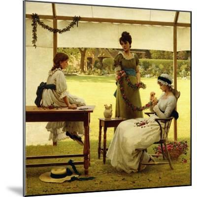 The Garland-George Dunlop Leslie-Mounted Giclee Print