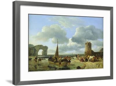 Coastal Scene-Jean Louis De Marne-Framed Giclee Print
