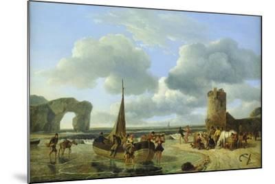 Coastal Scene-Jean Louis De Marne-Mounted Giclee Print