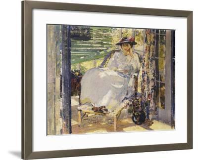 In the Sunroom-Richard Edward Miller-Framed Giclee Print