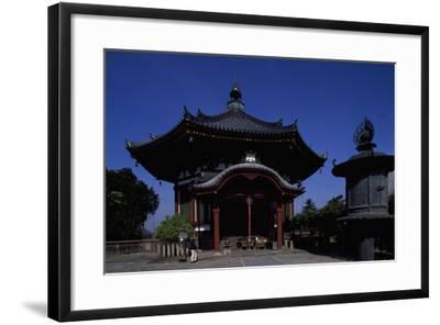 Nanen-Do Hall, from the Kofuku-Ji Complex in Nara--Framed Photographic Print