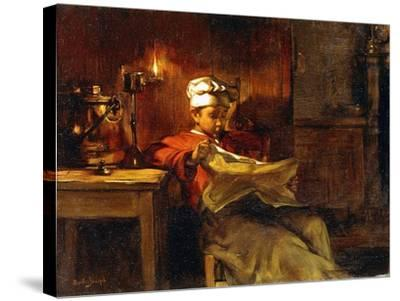 Little Chef-Joseph Bail-Stretched Canvas Print