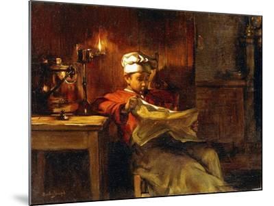 Little Chef-Joseph Bail-Mounted Giclee Print