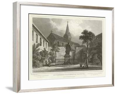Guttenberg's Monument at Mayence-William Tombleson-Framed Giclee Print