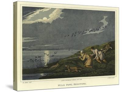 Wild Fowl Shooting-Henry Thomas Alken-Stretched Canvas Print