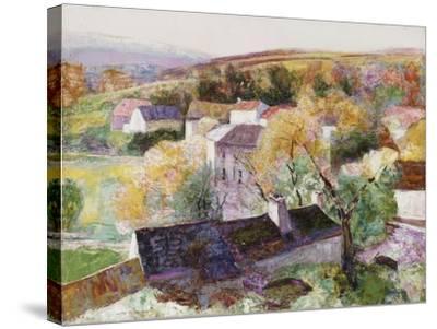 Landscape-Victor Charreton-Stretched Canvas Print