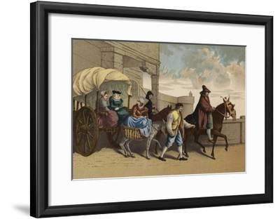Costumes of the French Bourgeoisie, 16th Century--Framed Giclee Print