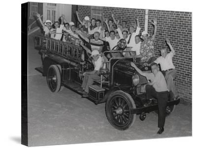Fire Company, Independent No. 2, Jenkintown Pa--Stretched Canvas Print