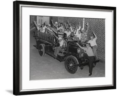 Fire Company, Independent No. 2, Jenkintown Pa--Framed Photographic Print
