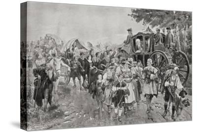 King Frederick William I of Prussia, 1920--Stretched Canvas Print