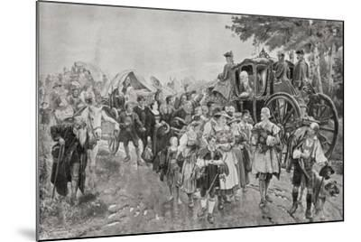 King Frederick William I of Prussia, 1920--Mounted Giclee Print