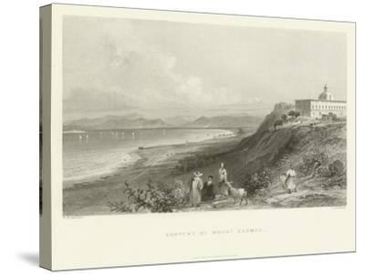 Convent of Mount Carmel, 1837--Stretched Canvas Print