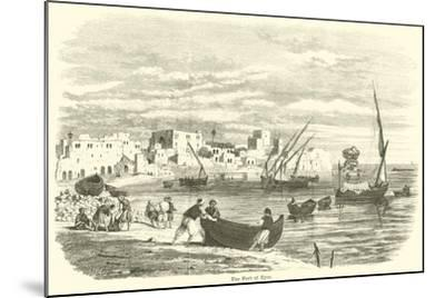 The Port of Tyre--Mounted Giclee Print