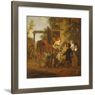 Country Snack-Jean Louis De Marne-Framed Giclee Print