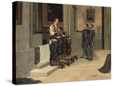 St Ignatius of Loyola, Founder of the Jesuits--Stretched Canvas Print