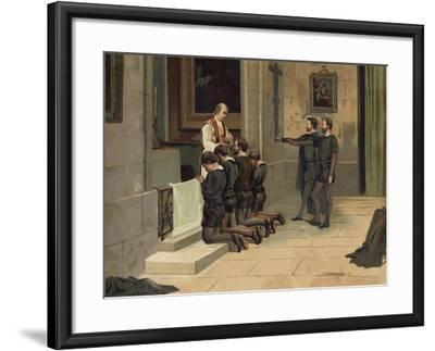 St Ignatius of Loyola, Founder of the Jesuits--Framed Giclee Print