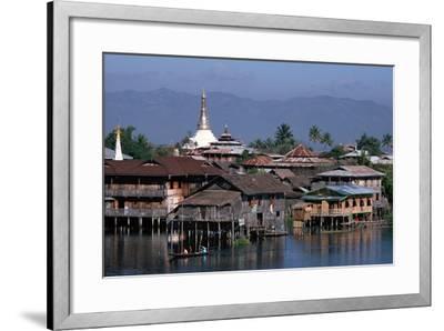 Inle Lake, Shan State, Myanmar--Framed Photographic Print
