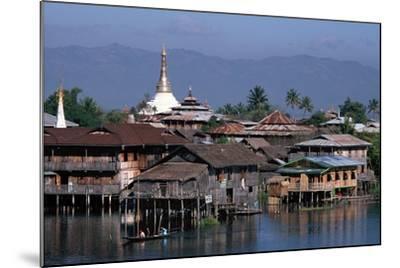 Inle Lake, Shan State, Myanmar--Mounted Photographic Print