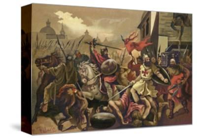 The Crusades--Stretched Canvas Print