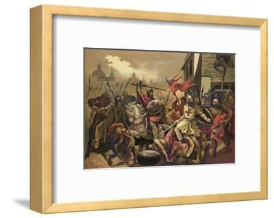 The Crusades--Framed Giclee Print