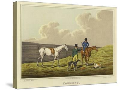 Coursing-Henry Thomas Alken-Stretched Canvas Print